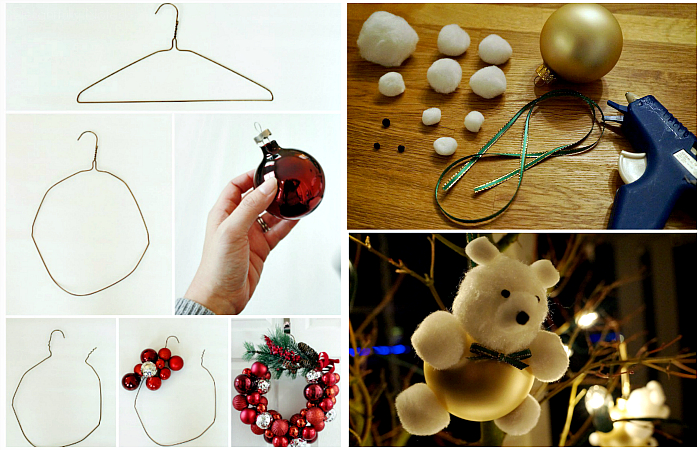 Идеи новогоднего декора своими руками.