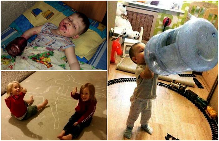 Детишки, с которыми невозможно грустить.