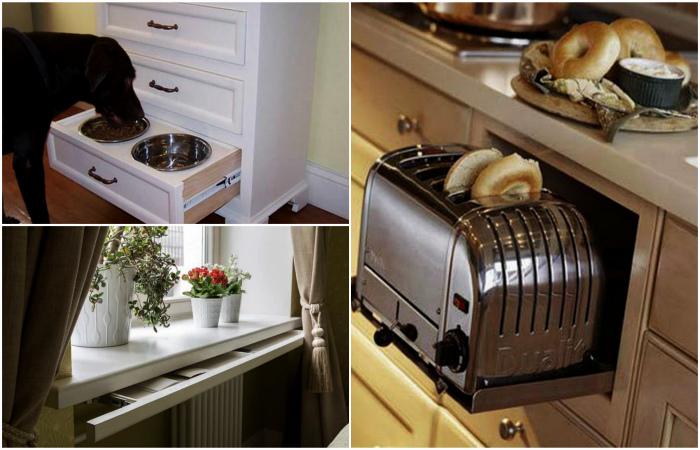 Как хитро и элегантно прятать всякие мелочи дома.