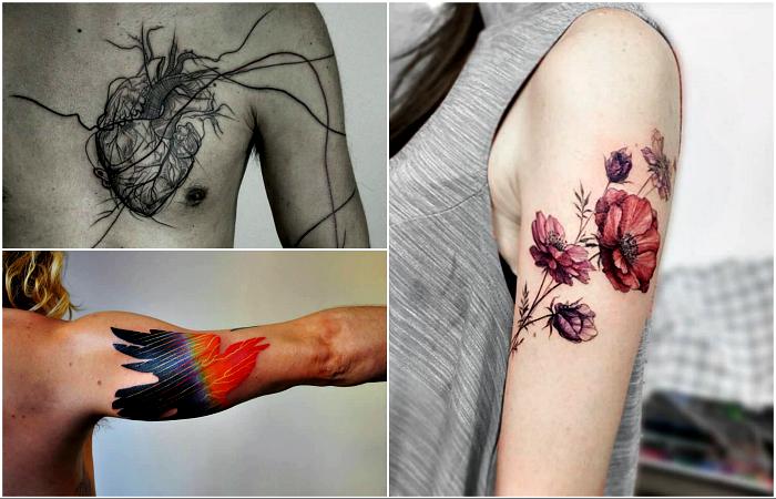 Оригинальные идеи для первой татуировки.