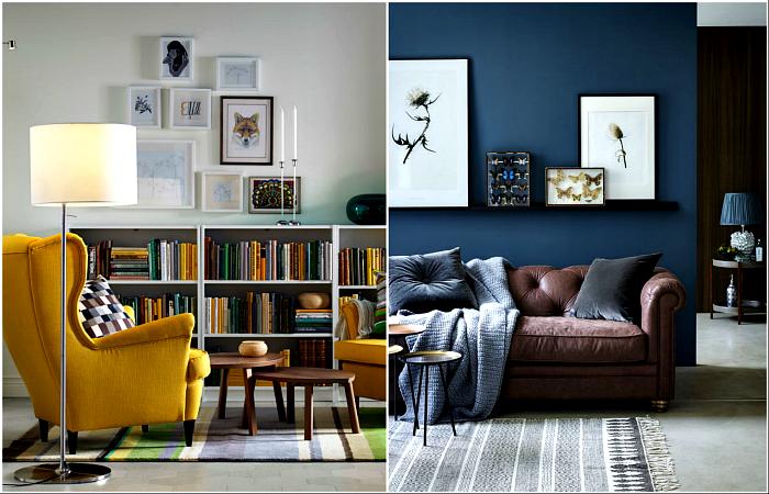 Вдохновляющие гостиные, оформленные по последним тенденциям моды.