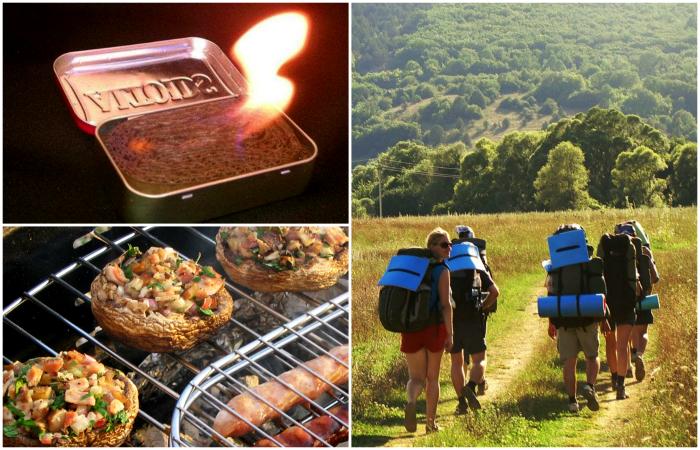 Походные лайфхаки для тех, кто собирается провести праздники на природе.