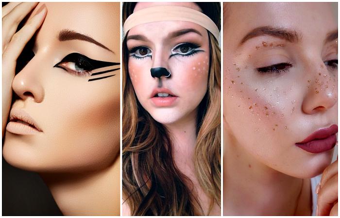 Новогодний макияж согласно последним тенденциям моды.
