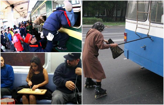 Удивительная атмосфера, в которую могут окунуться только те, кто регулярно пользуется общественным транспортом.