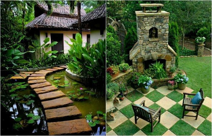 Фантастические примеры дизайна садовых дорожек.