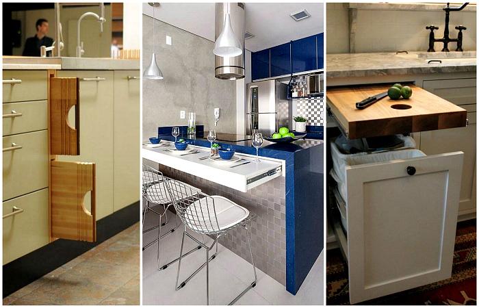 Гениальные идеи, которыми стоит воспользоваться всем владельцам маленьких квартир.