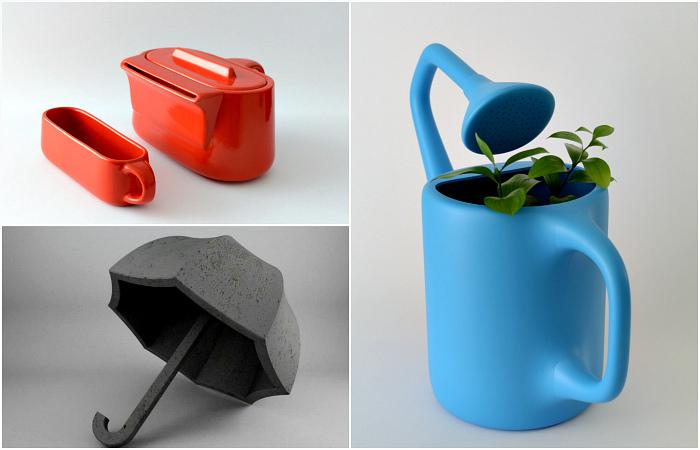 Оригинальные дизайнерские вещицы, которые оказались абсолютно бесполезными в быту.