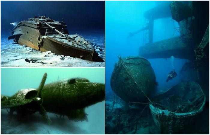 Завораживающие вещи, найденные на дне океана.