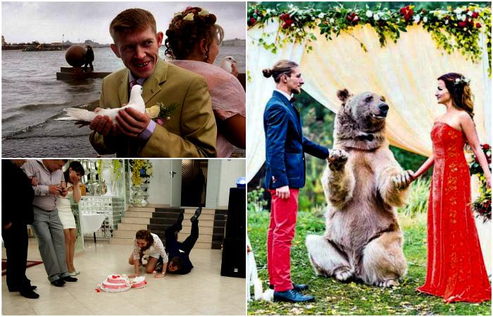 Удивительная атмосфера русских свадеб.