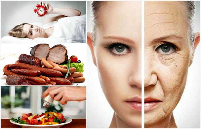 Еда и привычки, которые воруют нашу красоту.