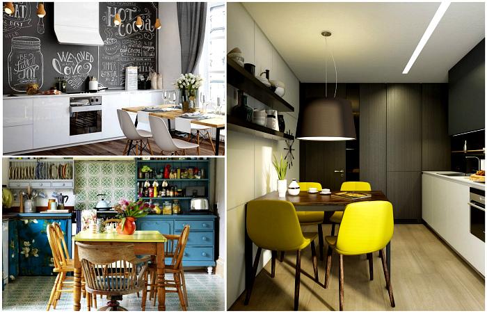 Оригинальные идеи оформления кухни, о которой мечтает любая хозяйка.
