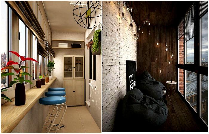 Как оформить балкон в современной квартире?