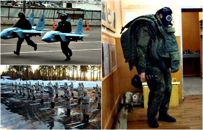 Забавные снимки из армейской жизни.