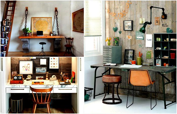 Крутые идеи оформления современного домашнего офиса.