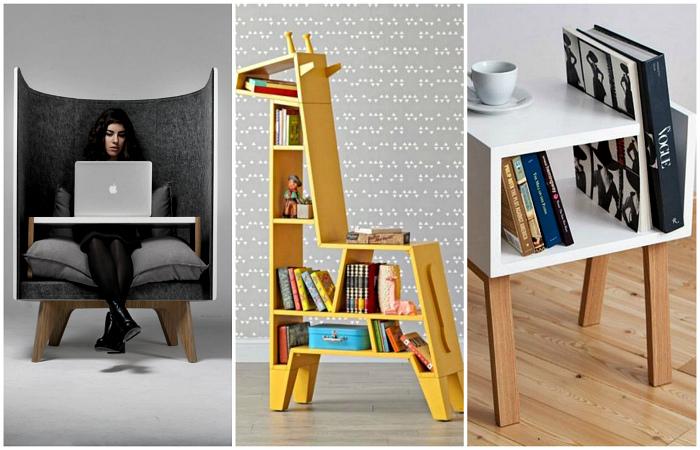 Оригинальная дизайнерская мебель для дома.