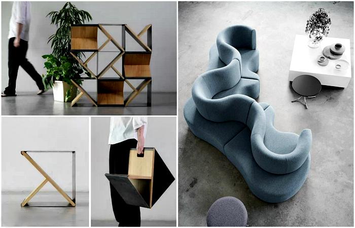 Оригинальная дизайнерская мебель, которая станет достойным украшением современного жилья.