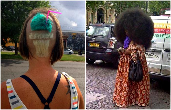 Прически, от которых волосы встают дыбом.