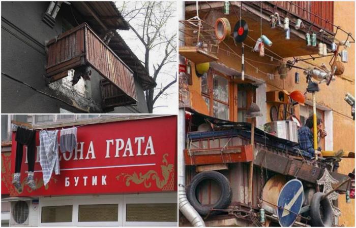 Романтика российских балконов.