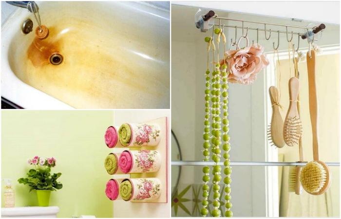 Полезные советы, которые помогут навести порядок в ванне.