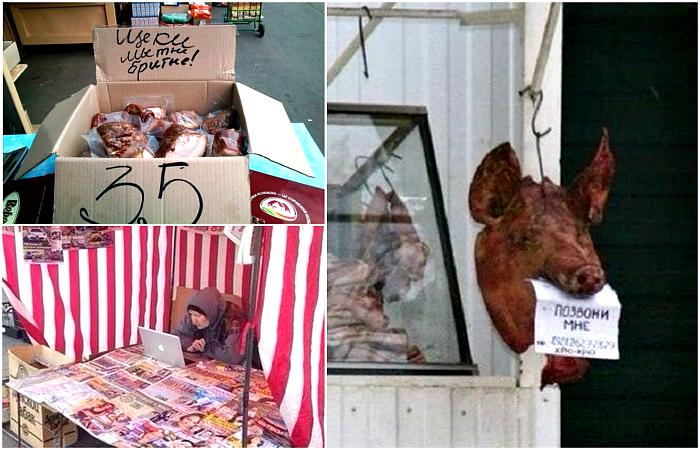 Чудные фотографии, демонстрирующие шарм местных рынков.