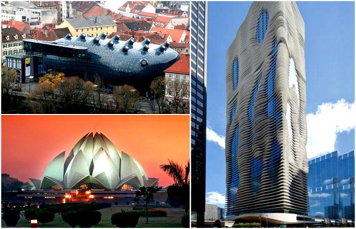 Шедевральные постройки с разных уголков мира.