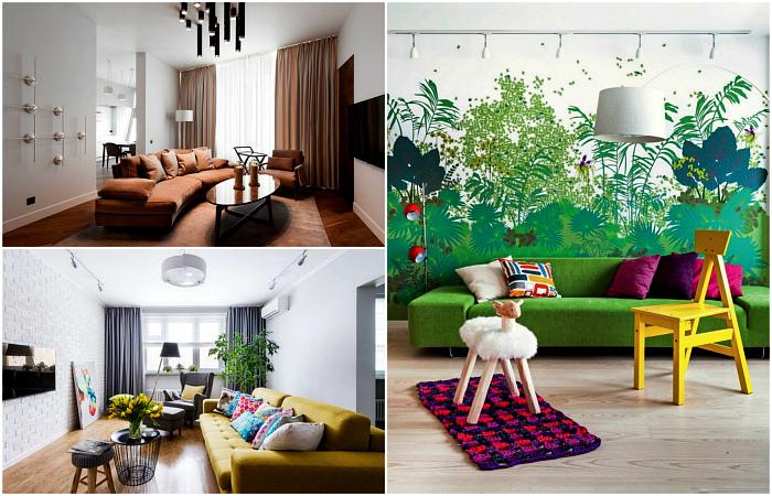 Потрясающие идеи оформления современной гостиной.