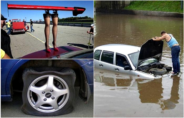 Эпичные ситуации из жизни автомобилистов.