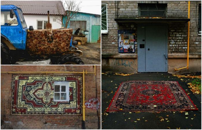 Смешные фотографии о коврах, которые вышли за пределы домов.