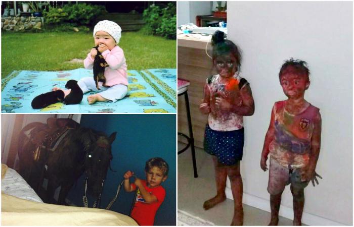 Убойные фотографии, которые демонстрируют «темную» сторону родительства.