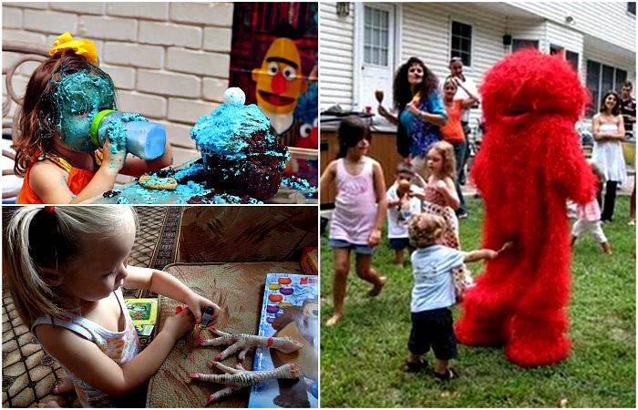 Снимки, доказывающие, что жизнь с детьми - это весело.