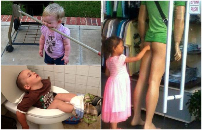 Забавные снимки о жизни с детьми.