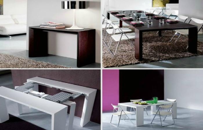 Современная мебель, которая экономит пространство.