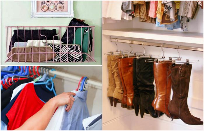 Простые хитрости, которые помогут навести порядок в шкафу.