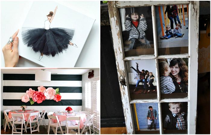 Простые и стильные идеи домашнего декора.