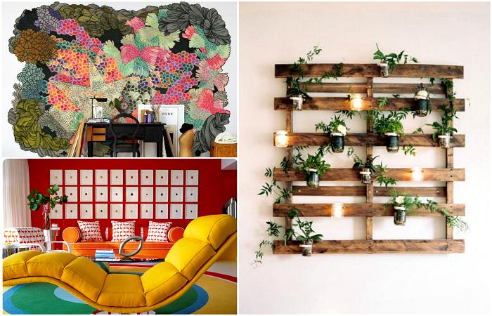 Потрясающие идеи декора стен, которые помогут освежить и преобразить жилое пространство.