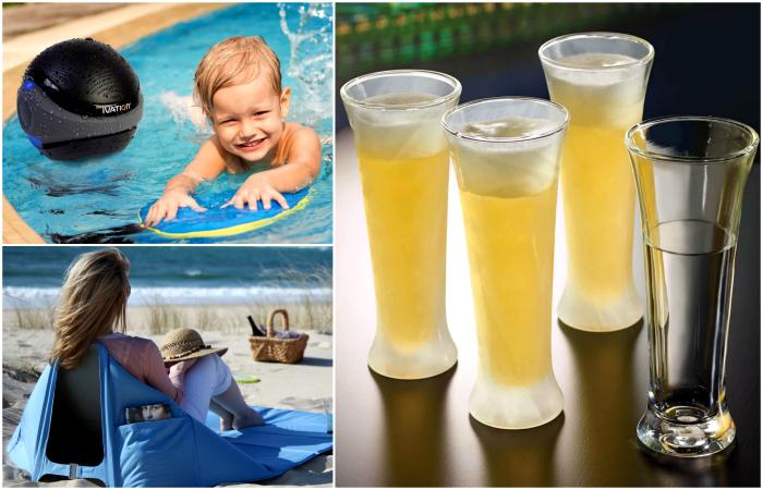 Потрясающие изобретения, которые сделают летний отдых комфортным и веселым.