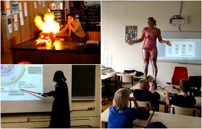 Крутые учителя, которые умеют заинтересовать студентов.