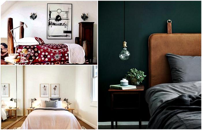 Уютные маленькие спальни, которые поражают своей красотой и стилем.