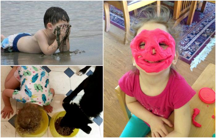 Сумасшедшие и забавные проделки детей.