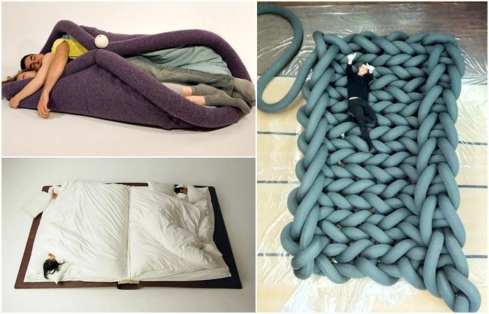 Необычные кровати, которые украсят любую спальню.
