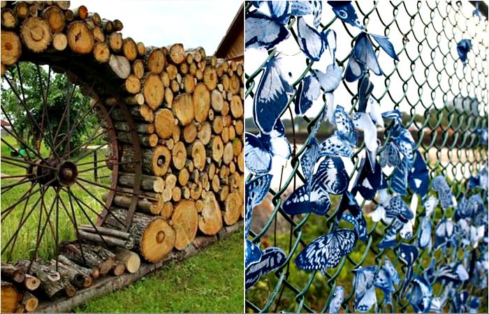 Примеры фантастических заборов, которые станут настоящим украшением дачи или загородного дома.