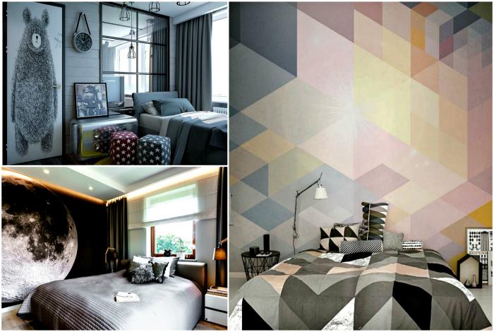 Современные спальни, которые выглядят стильно и уютно.