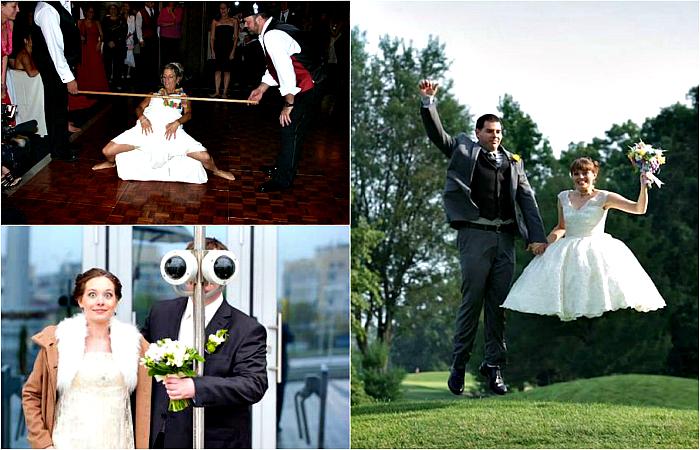 Курьезные свадебные снимки, которые хочется спрятать подальше.