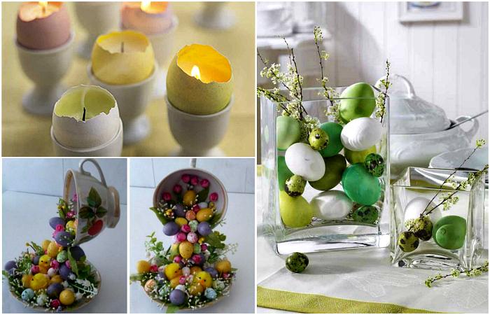 Креативные идеи декора дома к празднику Пасхи.
