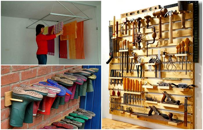Простые системы хранения, которые помогут навести порядок дома и за его пределами.