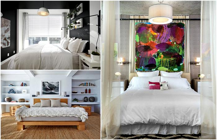 Вдохновляющие примеры обустройства спальни.