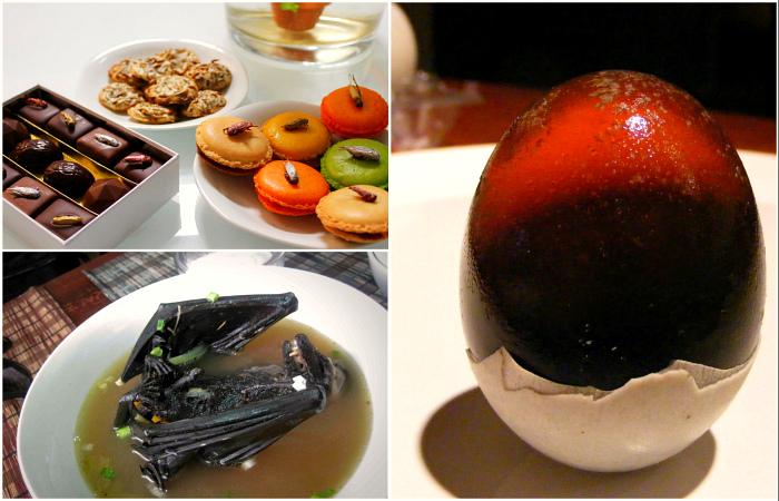 Экзотические блюда, вкус и вид которых едва ли удастся забыть.