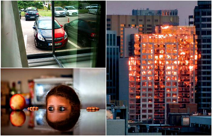 Потрясающие фотоиллюзии, способные вскружить голову любому.