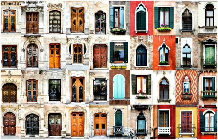 Особенности дизайна окон и дверей с разных уголков мира.