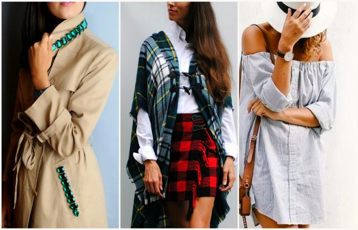 Актуальные идеи преображения старой одежды.